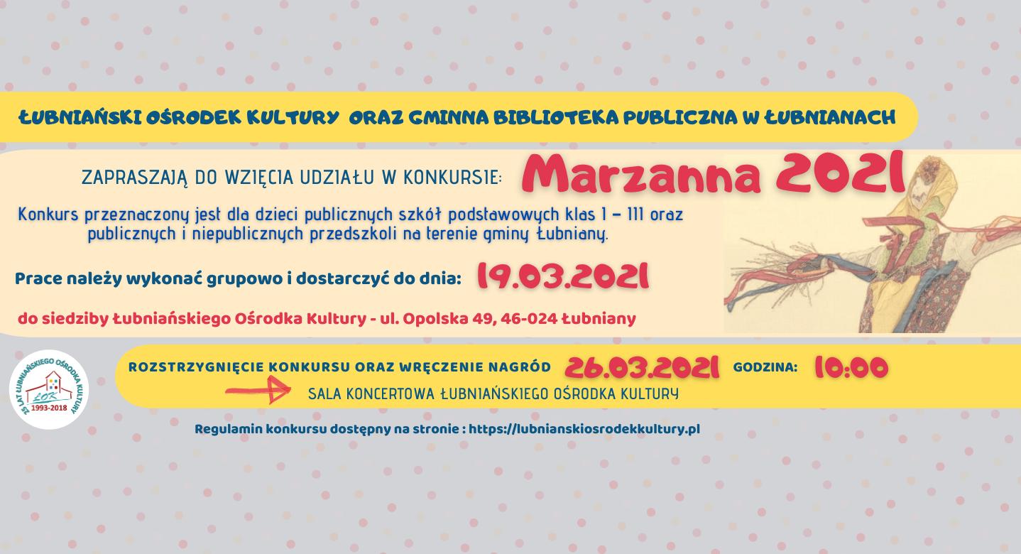 Plakat Marzanna 2021
