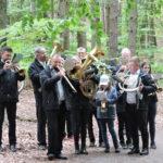Orkiestra dęta w trakcie nabożeństwa