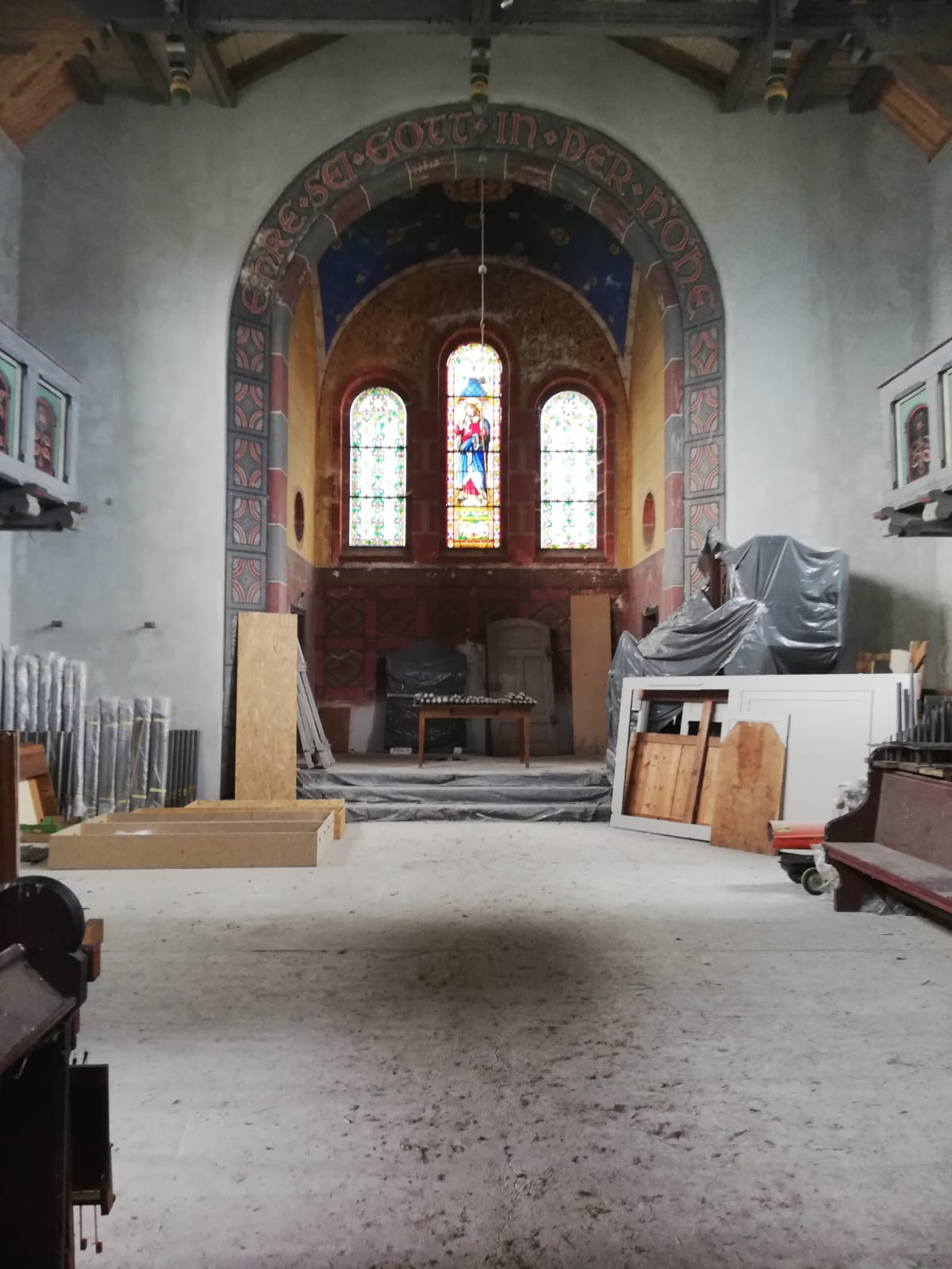 kościół od środka
